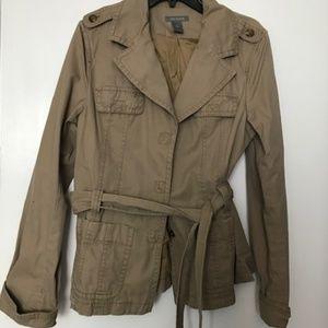 Ann Taylor Khaki  Jacket